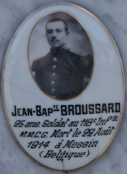 Broussard jean baptiste